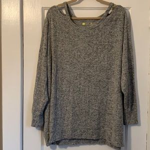 Xersion Grey Soft Shirt - 3X (22/24)